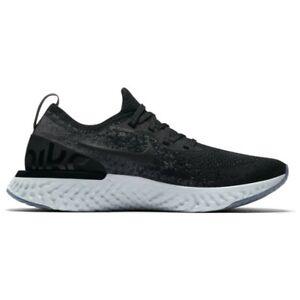 Nike-Epic-React-Flyknit-GS-Black-Dark-Grey-943311-001-Youth-Running-Shoe-Sizes