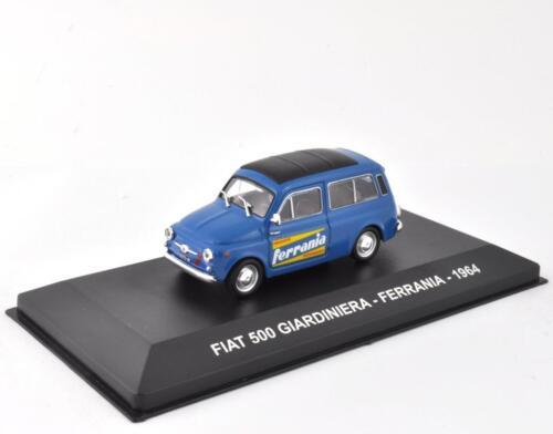 Fiat 500 giardiniera ferrania 1//43 advertising truck italian miniature ixo c63