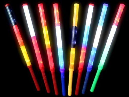 LED Länder Blinkstab Vereins Flashlight Blinkstäbe Leuchtstab alle Farben