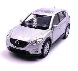 Mazda-CX-5-Maquette-de-Voiture-Auto-Argent-Echelle-1-3-4-Licence