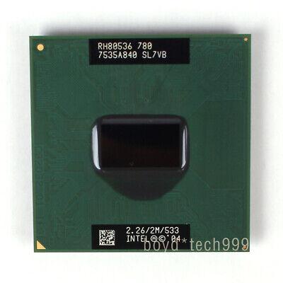 Intel Pentium M 780 2.26 GHz 2 MB 533 MHz Socket 479 CPU US free shipping SL7VB