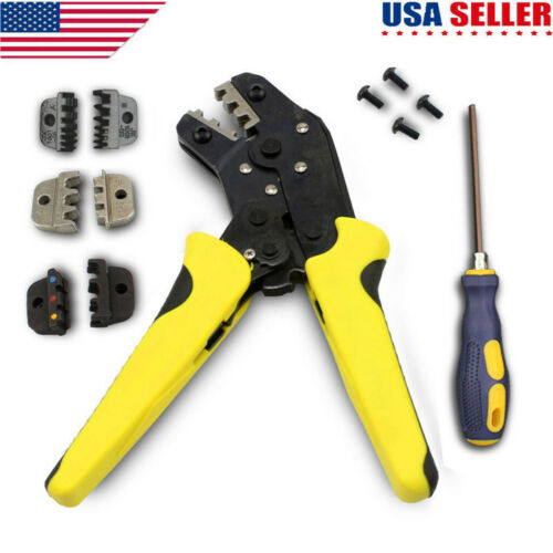Practica Insulated Wire Terminal Connector Ratcheting Crimper Tool 0.25-6.0mm²