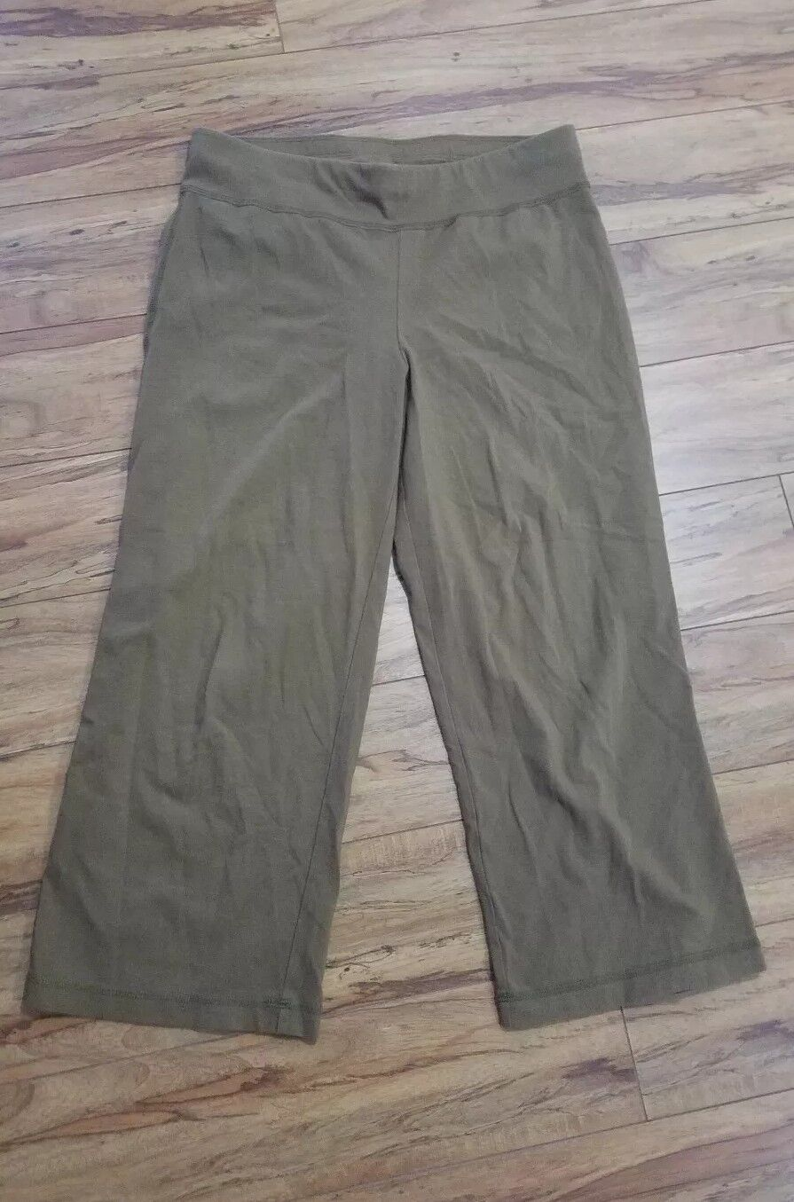Eileen fisher petite brown 70% viscose 24% nylon 6% lycra pants size ps