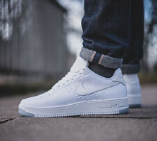 NIKE AF1 ULTRA FLYKNIT LOW Running Trainers Gym Fashion  - UK 9 (EU 44) White
