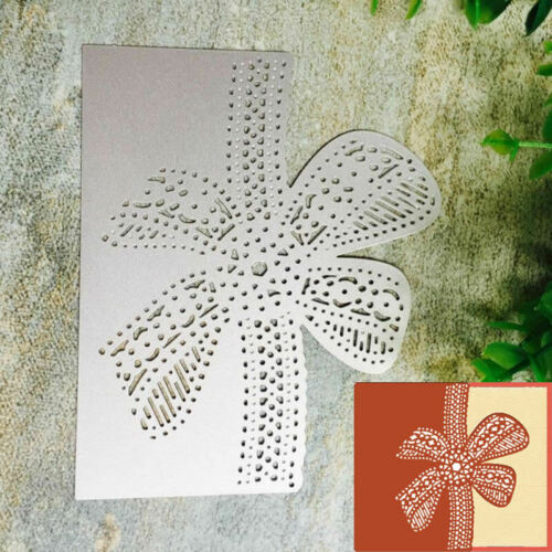 Bow Lace Metal Cutting Dies Stencil DIY Scrapbooking Album Paper Card Craft