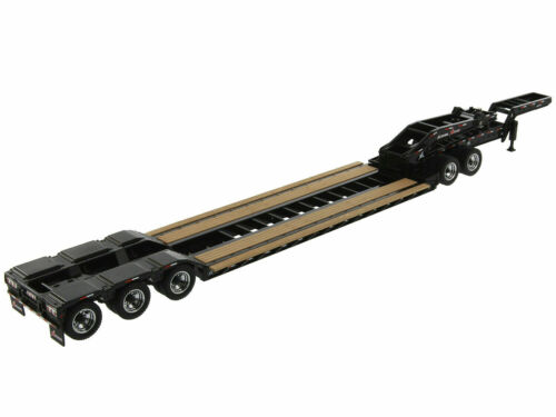 XL 120 LOW-PROFILE HDG TRAILER W//JEEP /& 2 BOOSTERS 1:50 BY DIECAST MASTERS 91033