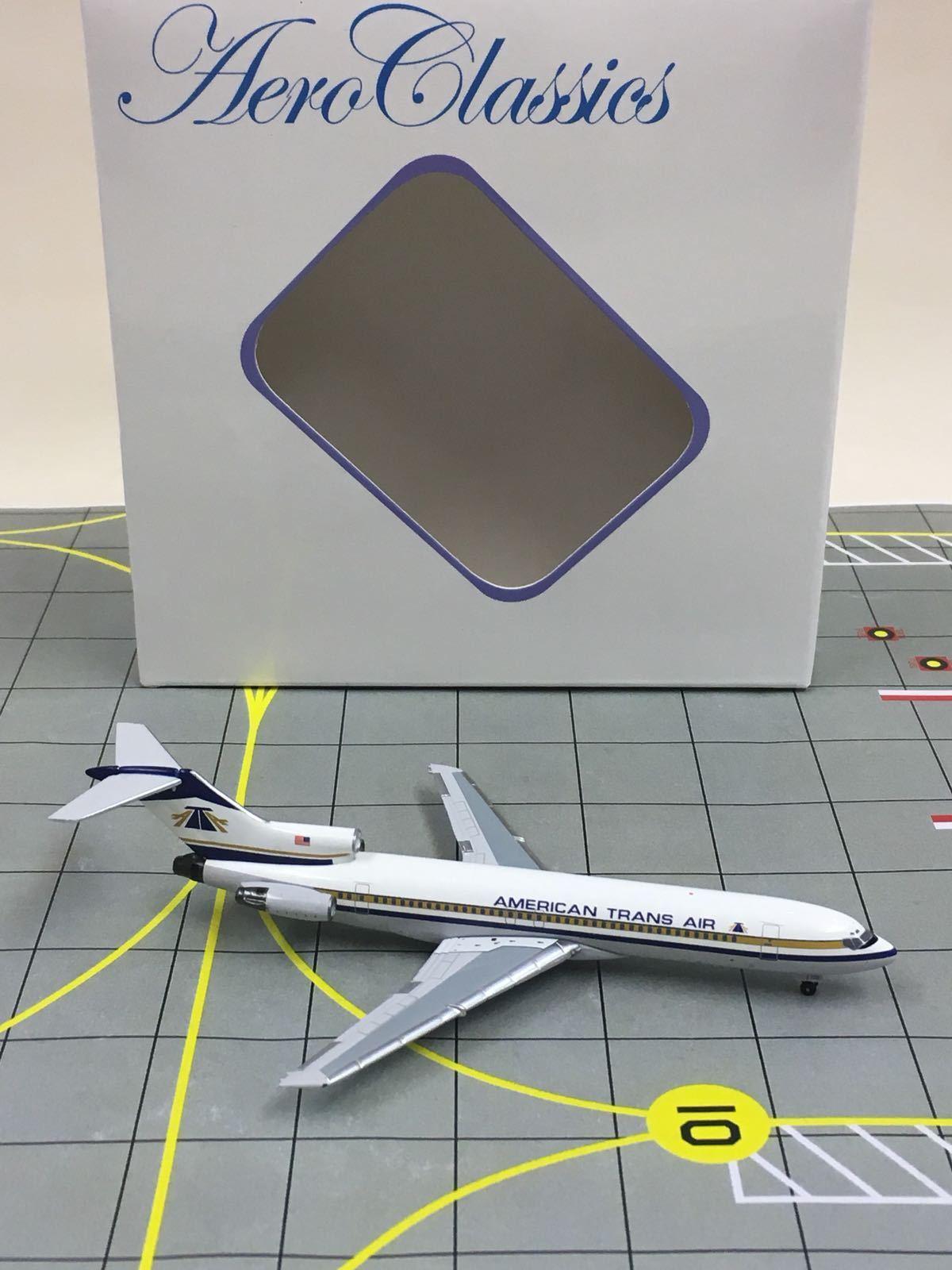 RARE AeroClassics 1 400 400 400 ATA American Trans Air Boeing 727-200 N768AT f90cc5