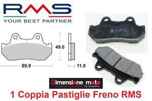 0330-Coppia-Pastiglie-Freno-Posteriori-RMS-per-HONDA-CBX-750-F-dal-1983-gt-1988