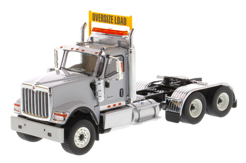 International HX520 Day Cab Tandem Tractor in Light Grey - Cab Only