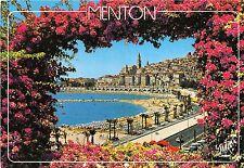 B51849 Menton La Perle de France la Plage et la vielle ville   france