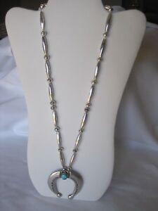 Gorgeous-Estate-Sterling-Silver-Squash-Blossom-Pendant-Necklace