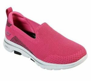 Slip On Skechers Shoes Black Go Walk
