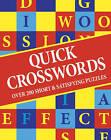 Quick Crosswords by Bonnier Books Ltd (Paperback, 2008)