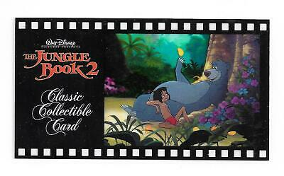The Jungle Book 2 Disney Classic Collectible Card #131 Mowgli and Baloo cell