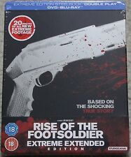 Rise of the Footsoldier ~UK *Extreme Edition* Blu-Ray Steelbook~ *NEW* OOP