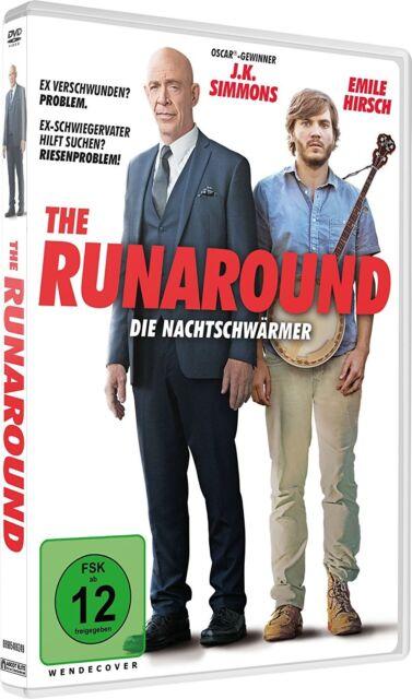 THE RUNAROUND - DIE NACHTSCHWÄRMER  HIRSCH,EMILE/SIMMONS,J.K./+  DVD NEW