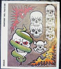 Leerbewerkingsgereedschap Skulls II Craftaid Tandy Leather 76642-00 Creatieve hobby's