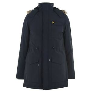 Mens-Lyle-and-Scott-Jacket-Parka-Hooded-New