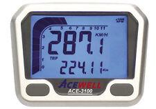 Acewell 3100 Digitale Cruscotto Speedo Tachimetro orologio Moto Trike Quad