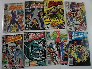 BIG-BOX-READER-LOT-of-59-Marvel-West-Coast-Avengers-1-101-Annual-run-LOOK