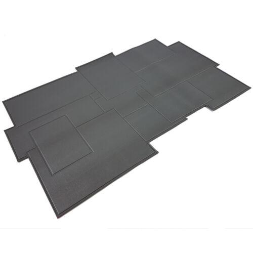Badteppich 50x80cm PVC Duschmatte Badematte Badvorleger Antirutschmatte Bad
