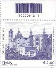 1211 CODICE A BARRE  Centro storico di Urbino patrimonio FACCIALE 2.80 ANNO 2008