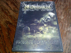"NECROPHAGIA ""NECROTORTURE / SICKCESS"" DEATH METAL FROM  USA , ALL REGIONS"