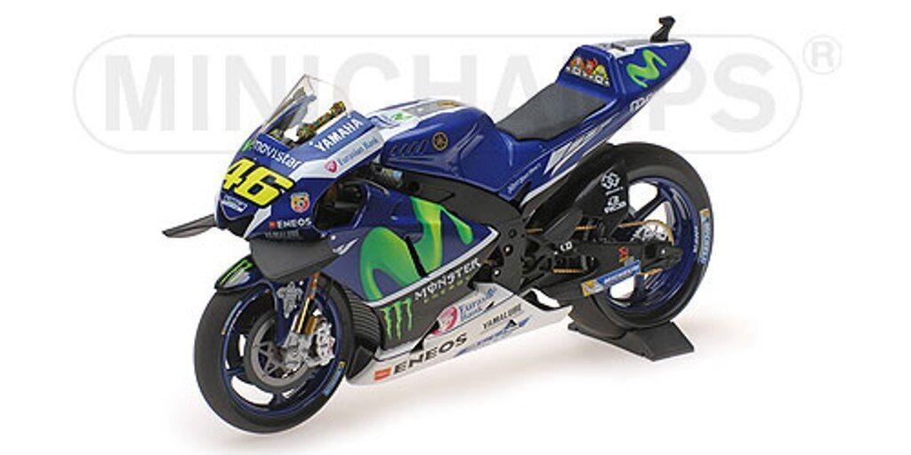 MINISTAMPS 122 163046 YMAHA YZR M1 modellllerl för motorcykeln Valentino Rossi 2016 12