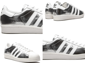 Prada Superstar Adidas Consortium 450 Italy Limited Sneakers Schuhe Trainers 44+