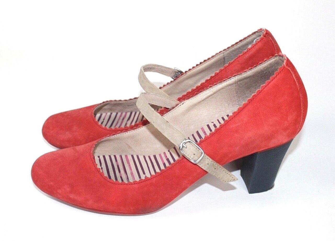 in cerca di agente di vendita CAMPER  Scarpe Scarpe Scarpe DA DONNA PUMPS FERMAGLI Décolleté Rosso 38 poco indossato  promozioni eccitanti