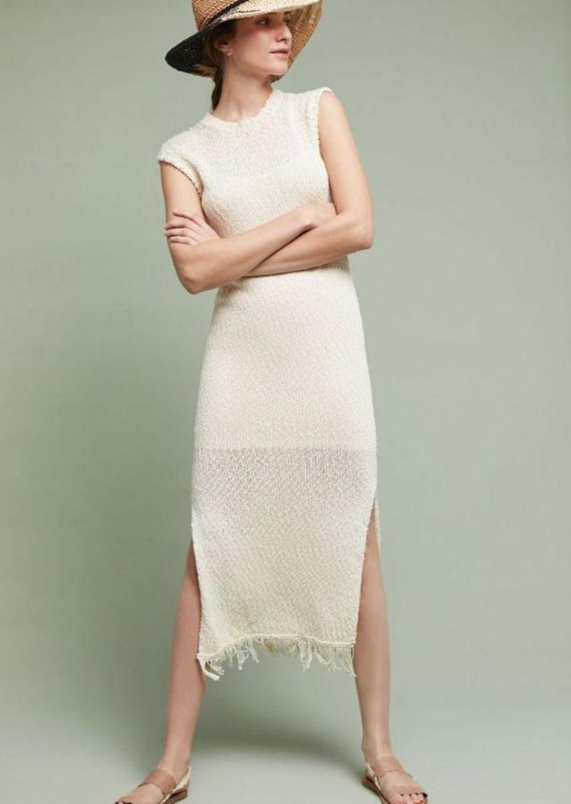 NWT  Anthropologie Isla Sweater Midi Dress By Callahan Sz. Large