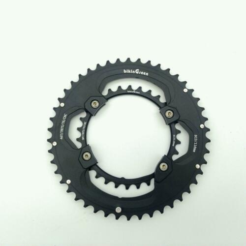 bikinGreen CNC Road Chainring 46//30T BCD For 4 Arms Shimano 9-11 Speed