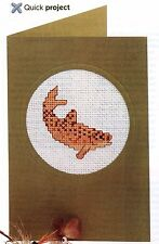 BROWN TROUT Cross Stitch pattern from magazine by Katriel Costello