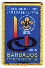 23rd world scout jamboree BARBADOS CONTINGENT BADGE 2015