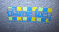 BLAME LUCY dayglo logo T shirt OHIO Christian rock LEGACY Blame Lucifer tee XL
