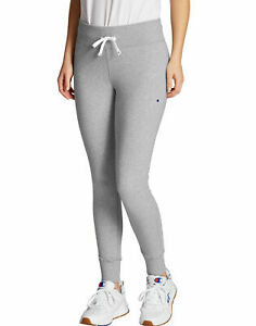 Champion-Jogger-Tights-Women-039-s-Heritage-Sweatpants-Fleece-Skinny-Fit-Leg-27-5-034