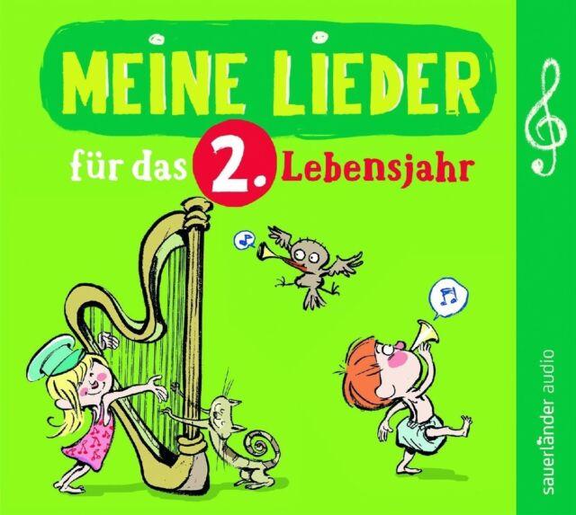 MEINE LIEDER FÜR DAS 2.LEBENSJAHR - FREDRIK VAHLE/ERWIN GROSCHE/+  CD NEW!