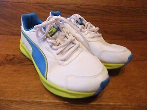 différemment 7ac57 40aca Details about Puma Descendant V3 White Running Shoes Trainers Size UK 5 EUR  38