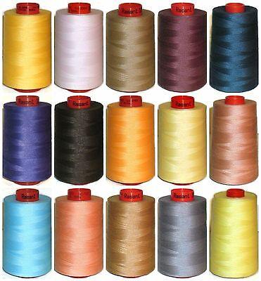 3600 3640 3622 Blues Mix Colours X5050 4 x Rasant 120 Thread 1000m Spools
