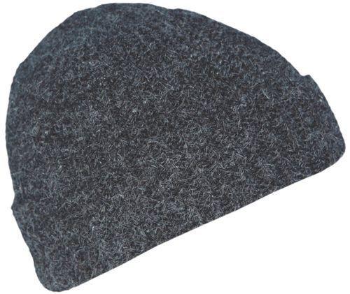 Cool4 Sailor Hat Anthracite 100% Angora Biker Cap Fischer Seemannmütze WSM01