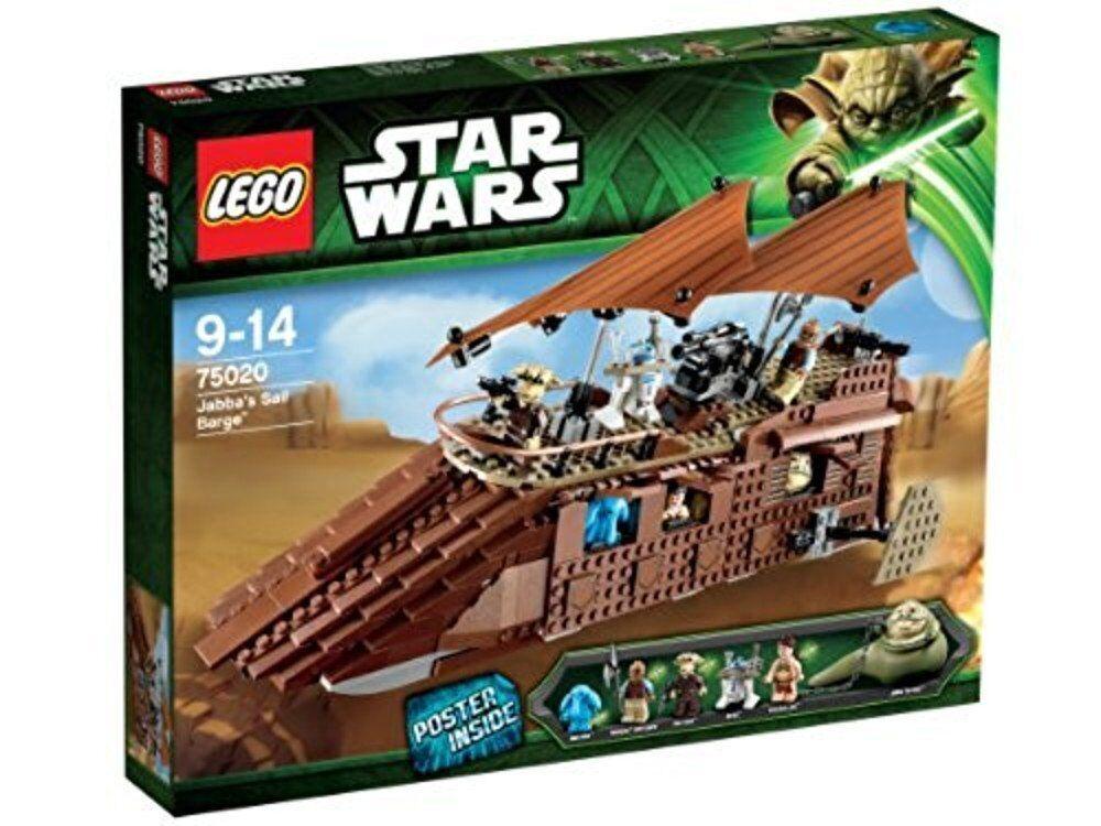 LEGO  estrella guerras 75020-Jabba 's Sail Barge-NUOVO & OVP & TOP è adatto a 75192  miglior prezzo migliore