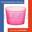 100 COPPETTE PLASTICA PER MACEDONIE E PER GELATI COPPETTA CC 400  PLASTIC CUPS