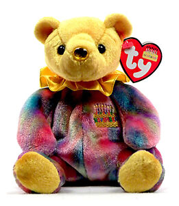 Image is loading TY-Beanie-Baby-034-November-034-Yellow-Birthday- b1c0e215343b