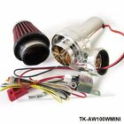 Mini Electric Turbocharger Turbo Supercharger Air Filter Intake for All Car Moto