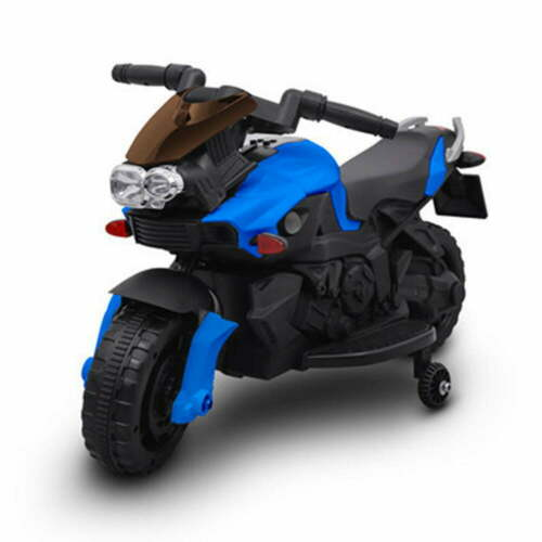 Moto Motocicletta Elettrica Sprint Blu 6V Per Bambini