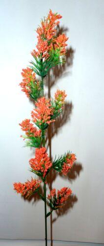 Pétales branche ORANGE ART FLEURS-soie fleurs