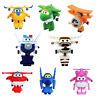 Disney Super Wings Figure Toy Transformer Robot Jett Mira Paul Bello Grand Doll