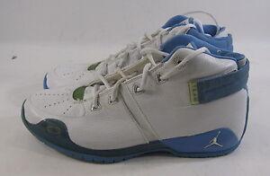 Nike Air Jordan Team 10/16 (White/University Blue) 309847-143 Size 10.5