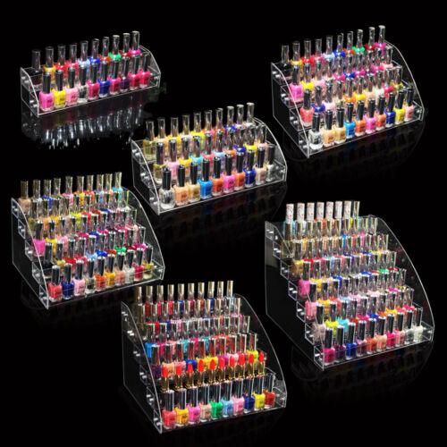 Jewelry Display Shelf Acrylic Makeup Organizer Lipstick Nail Polish Rack by Samonica