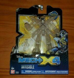 BAN DAI Disney Mech X4 invisible new action figure